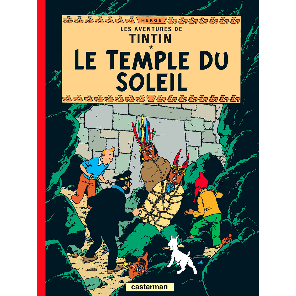 Album The Adventures of Tintin T14 - Prisoners of the Sun French
