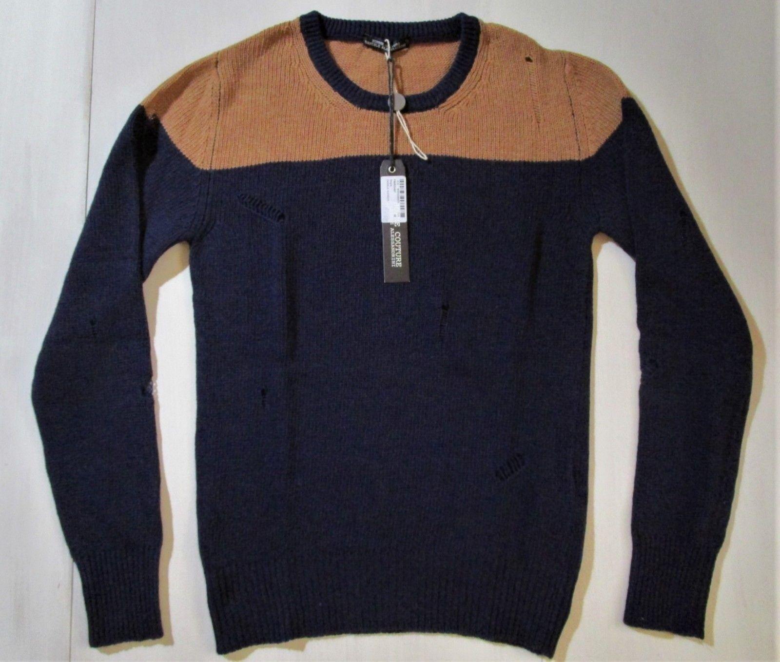 Daniele Daniele Daniele Alessandrini Homme Couture Maglia TG 46 4e5f85
