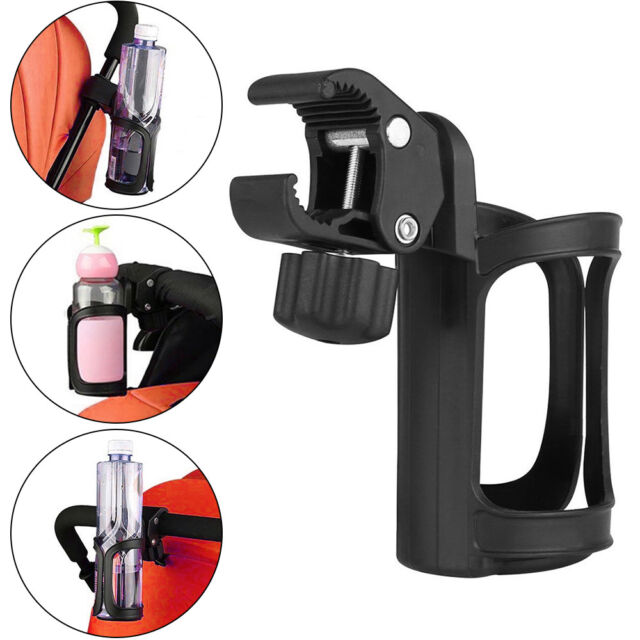 2pcs Water Bottle Cage Cup Holder Drink Holder for Strollers Wheelchair Bike