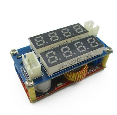 5A Adjustable CC/CV Display Step Down charge Module LED Panel Voltmeter Ammeter