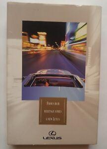 Lexus ES 300 Sales Promotion  VHS Video Tape 1991 or 1992