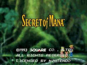 Secret of Mana Super Nintendo Snes Battery Saves Cart Only Authentic
