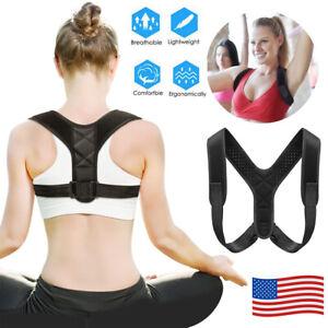 Adjustable-Posture-Corrector-Back-Shoulder-Support-Brace-Belt-Therapy-Men-Women