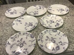 7 Rarely Seen Discontinued Pattern Corelle Vitrelle Plates 4 Dinner 3 Luncheon Ebay