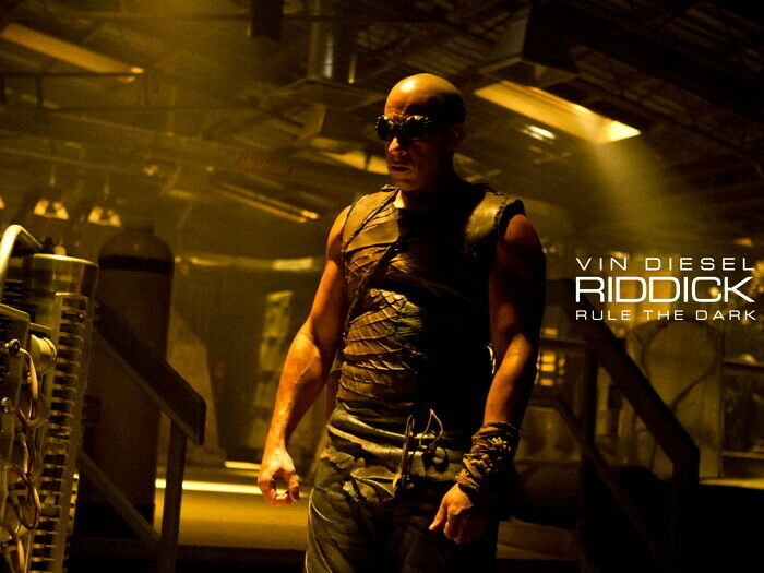 Riddick Movie 2013 Wall Print POSTER DE