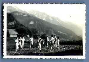France-Haute-Savoie-Champel-Le-Miage-Mont-Vorassay-Vintage-silver-print