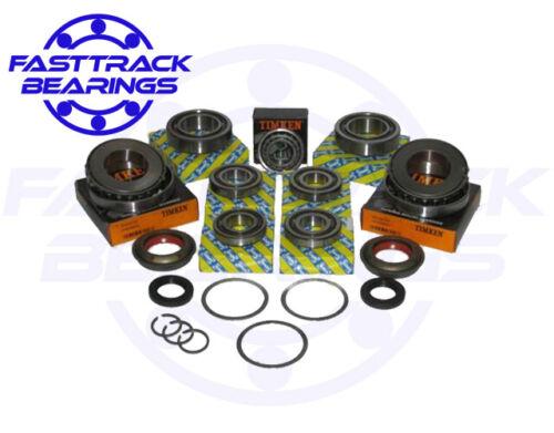M32 Gearbox Zafira 6sp  Bearing Rebuild Kit.Uprated 9 bearings 4 seals