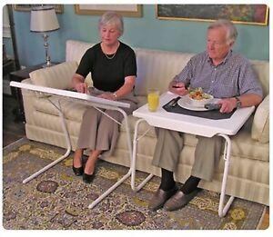 Tablemate I Xl Big Large Brown Dinner Tray Adjustable