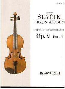 Sevcik: Studien Für Violine op.6 Teil 3 - Bosworth