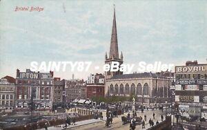 BRISTOL-Bristol-Bridge-Valentines-Postcard