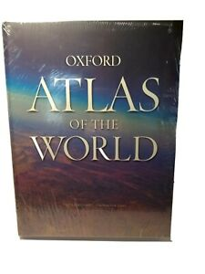Oxford-Atlas-Of-The-World-Eighteenth-Edition-Book-New