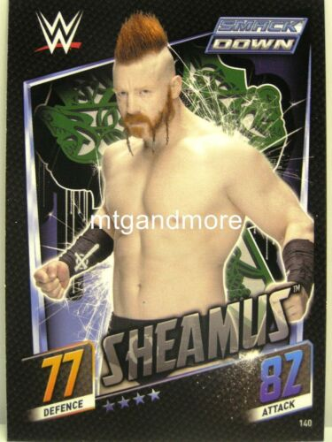 Slam ATTAX then Now Forever #140 sheamus
