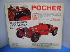 POCHER RIVAROSSI CATALOGO TRENI/AUTO anni 60'/70