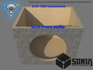 STAGE 1 - SEALED SUBWOOFER MDF ENCLOSURE FOR ROCKFORD FOSGATE T1D215-T1D415