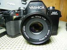 Yashica 107 Multi Program SLR ML 50mm & MC 75-200 Lens CS-140 Flash