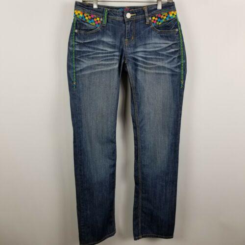 Relaxed Wash Størrelse Dark 9 10 Blue Straight Women 5 33 Jeans Coogi 17Iqwq