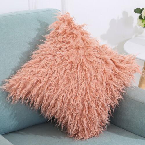 Soft Cashmere Carré Taie d/'oreiller canapé taille Throw Cushion Cover Home Décoration