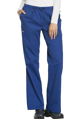 Cherokee Workwear Mid-rise Moderate Flare Drawstring Pant 44101A Ships FREE!