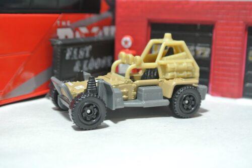 Dune Buggy 1:64 Tan Military Loose Matchbox Sahara Sweeper