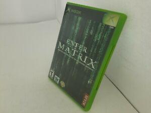 ENTER-THE-MATRIX-game-for-Original-Xbox-CIB-Complete-Tested-G66