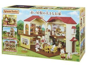 Neuf Epoch Sylvania Famille Maison Avec Big Rouge Toit Ha 48 Jouet De Japon