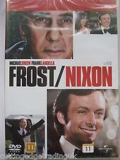 Frost / Nixon (DVD, 2009) NEW SEALED Region 2 PAL