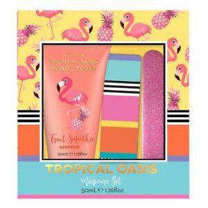 NEW-Arabella-Tropical-Oasis-Manicure-Set