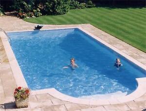 Swimming Pool Diy Kit 16ft X 32ft Block Amp Liner Inground