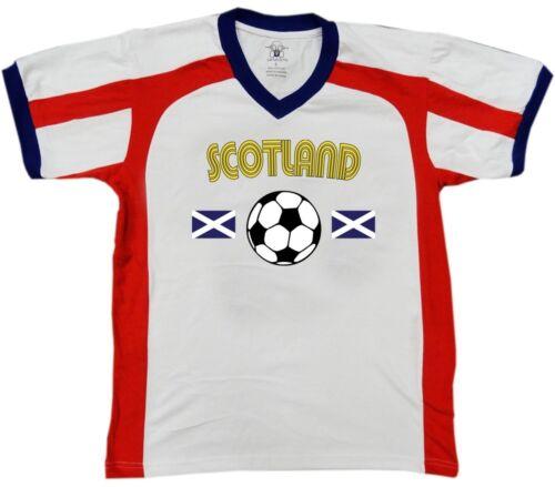 Scotland Scottish National Country Pride Soccer Football Retro Sport T-shirt