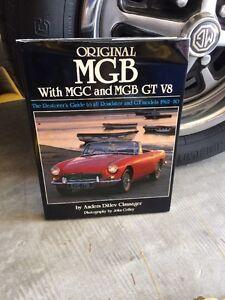 original mg mgb restoration book mgc gt v8 62 80 mgbgt clausager rh ebay com 1975 MGB 1977 MGB