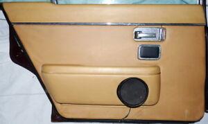 JAGUAR-XJ-12-6-Serie-II-Tuerverkleidung-Tuerpappe-hinten-links-Oldtimer-selten-rar