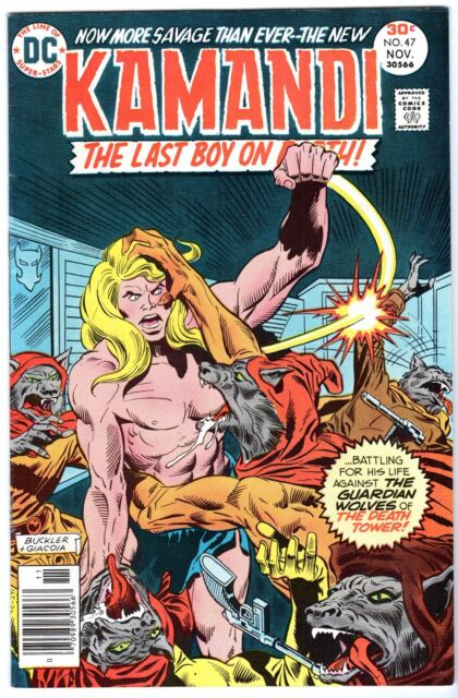 Kamandi, The Last Boy on Earth #47, Very Fine - Near Mint Condition'