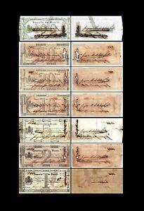 Brésil -  2x 1 - 100 Mil Reis - Edition 03.10.1833 - Reproduction - 55
