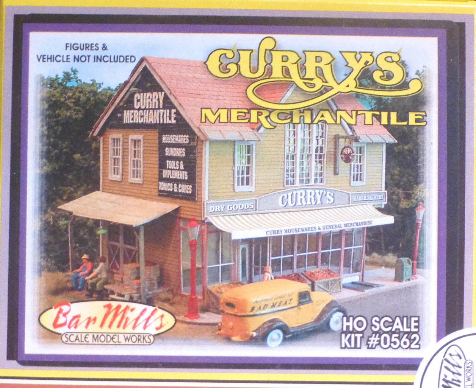 BAR Mills  562 scala HO Curry MERCANTILE KIT Kit di costruzione