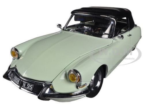 1961 CITROEN  DS 19 BLANC voitureRARE CONVERTIBLE 1 18 PLATINUM SERIES SUNSTAR 4745  pas de minimum