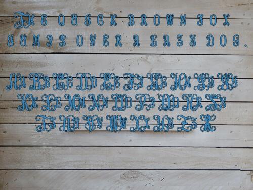 "DS1029 18/"" Deer Antler Door Hanger with Last Name Initial and Established Year"