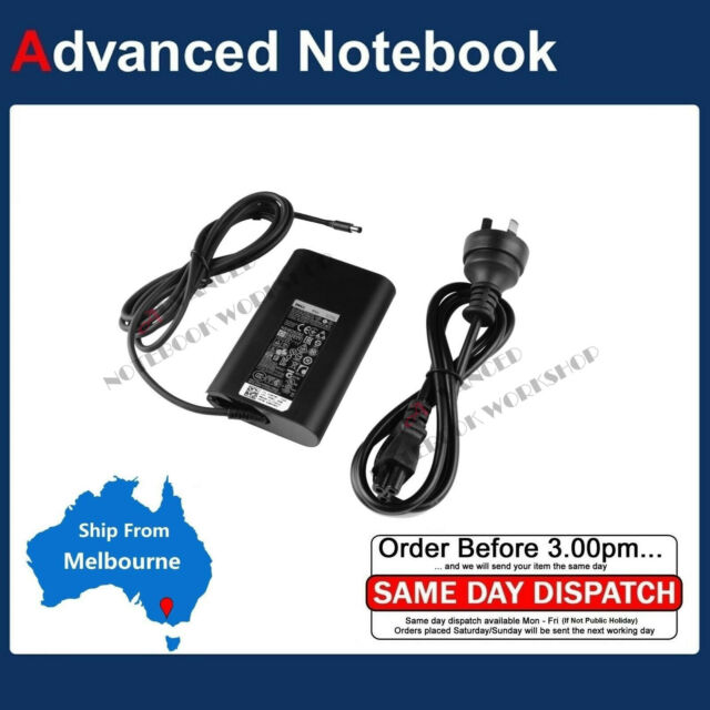 65W Genuine Power AC Adapter Charger For DELL Laptop 19.5V 3.34A 4.5*3.0mm