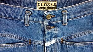 Closed-Worker-Denim-Groesse-28-Original-80er-Jahr-Vintage-Jeans