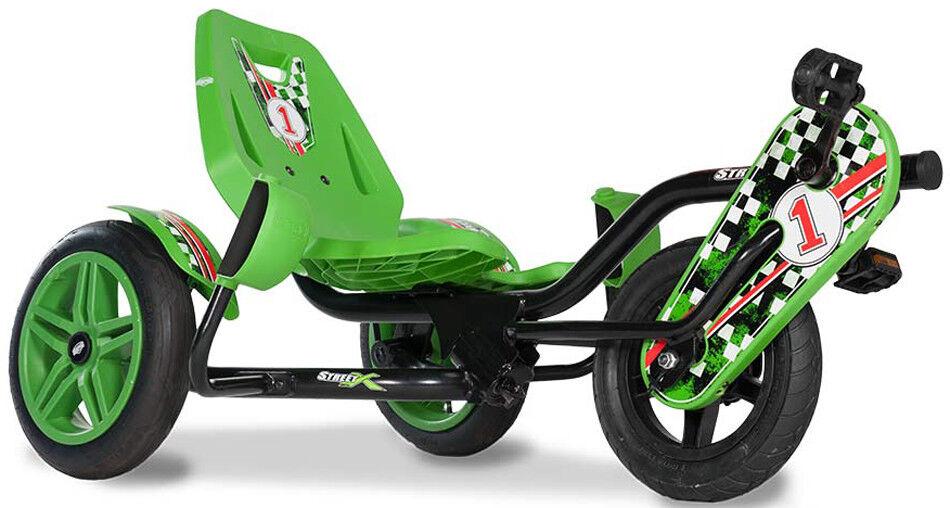 Berg Junior Street-X Kids Pedal Car Go Kart 4 - 12 Years NEW