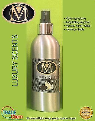 Air Freshener Luxury M Range In Aluminium Bottle Vanilla