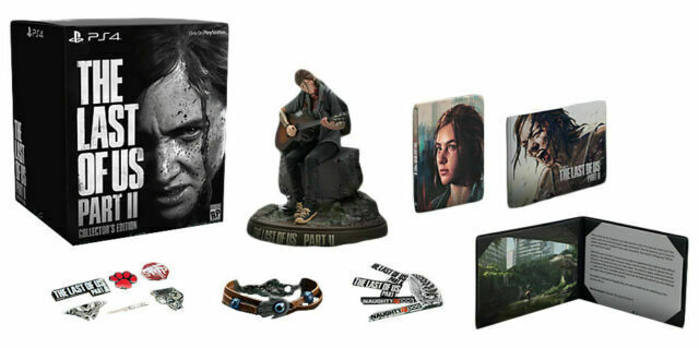 The Last Of Us Part Ii Collector S Edition Sony Playstation 4 2020 For Sale Online Ebay