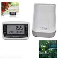 Digital Rain Gauge Wireless Collector Monitoring Station Outdoor Sensor