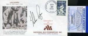 Nolan Ryan PSA DNA Coa Autograph Hand Signed 1984 FDC Cache
