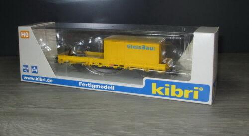 Kibri 26264 Schutzwagen mit Auflage für MFS 100 und Container /_ Fertigmodell