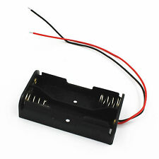 1Stk. Neu Plastic Battery Case Box Holder with Wire Lead for 2XAA 2*AA 3V