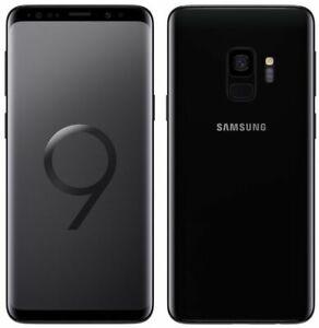 "Samsung Galaxy S9 SM-G960U 64 Go Débloqué Android 5,8"" Smartphone Octa core Noir"