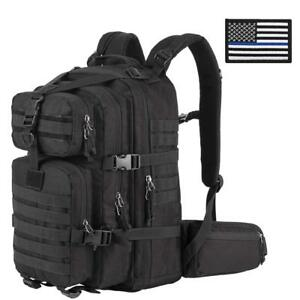 Military-Tactical-Backpack-Small-3-Day-Assault-Pack-Army-Molle-Bug-Out-Bag-Black