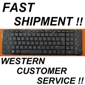 For HP 15-g007ng 15-g021ng 15-g025ng 15-g027ng Keyboard German Tastatur Frame