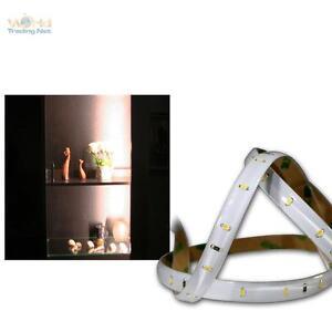 (10,74€/m) LED Lichtband 1,2m warmweiß, 12V DC, Stripe 60 SMDs Streifen Leiste