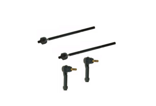 Chrysler Town /& Country 2001-2004 Tie Rod End Front Inner /& Outer 4Pcs Kit